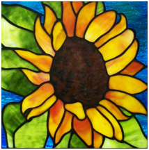 Sunflower by Swanson Glass