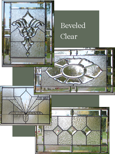 Beveled Glass Window Patterns